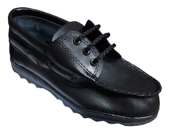 Zapatotimberland Acordonado Cuero Colegial O Vestir 27 Al 33