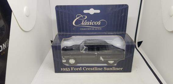 Coleccion Clasicos 1953 Ford Cretline Sunliner No Inolvidabl