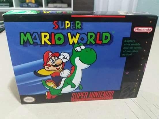 5 Caixas Super Nintendo Com Berço + Frete Gratis