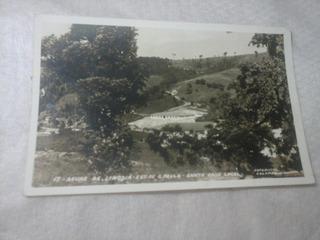 Postal Antigo Santa Casa De Aguas De Lindoia Sp