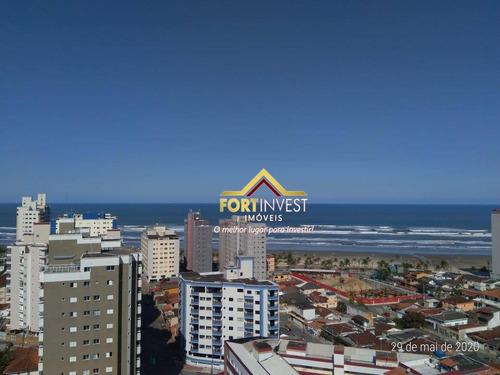 Apartamento Com 3 Dormitórios À Venda, 82 M² Por R$ 380.000,00 - Mirim - Praia Grande/sp - Ap1859