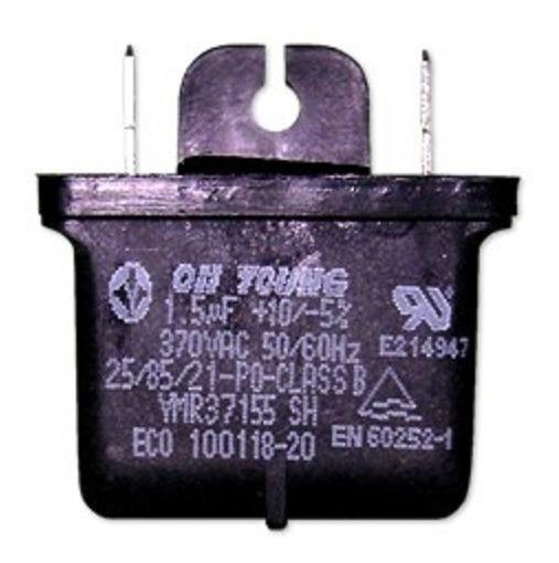 Capacitor Quadrado Permanente 1,5uf Ar Condicionado Lg Hi Wall