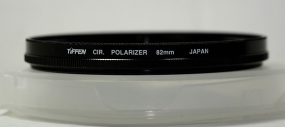 Filtro Cir Tiffen Polarizador 82mm