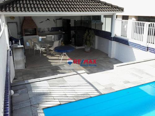 Imagem 1 de 30 de Cobertura À Venda, 203 M² Por R$ 450.000,00 - Praia Das Pitangueiras - Guarujá/sp - Co0222