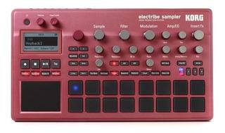 Korg Electribe 2s Sampler Estacion De Produccion Musical Red