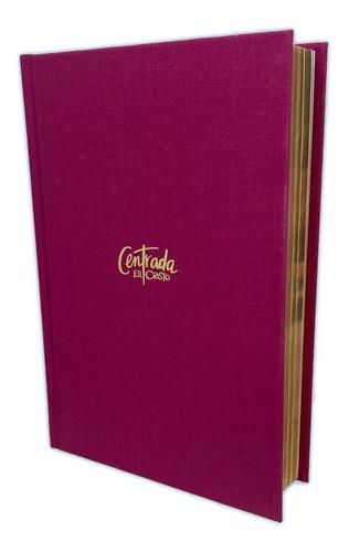 Imagen 1 de 3 de Biblia Devocional Centrada En Cristo, Tap Dura Estudio Mujer