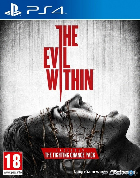 The Evil Within Ps4 Midia Fisica