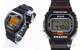 Kit 2 Relógio Masculino Aqua Gp 477 E Gp 519 Prova D