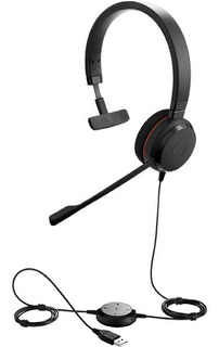 Auricular Headset Jabra Evolve 20 Mono Usb Call Center Jazz Pc Soluciones Multimediales Para Empresas
