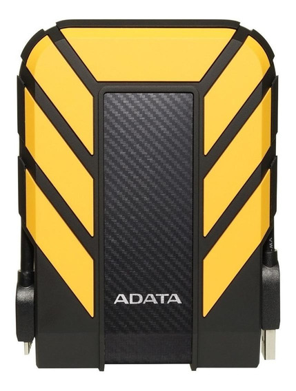 Disco rígido externo Adata HD710 Pro AHD710P-1TU31 1TB amarelo