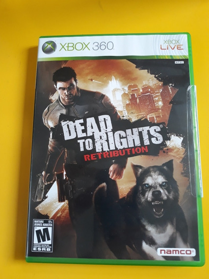Dead To Rights Retribution Jogo Xbox 360 Completo Original