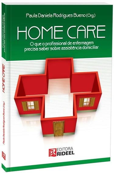Livro Home Care 1° Edição - Editora Rideel