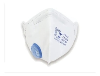 10 Mascaras Proteção Respiratória Pff3 (s) 99% Saúde Inmetro