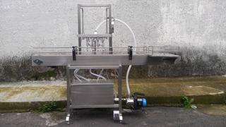 Llenadora Semiautomatica 4 Valv.....en Existencia Pet Botell