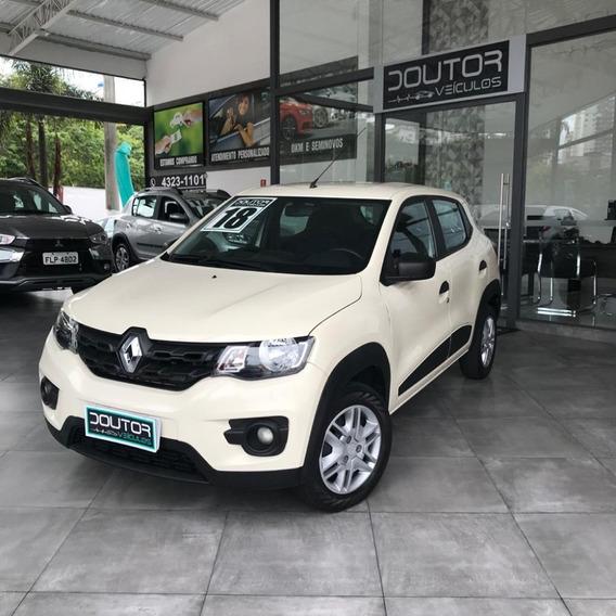 Renault Kwid 2018 1.0 12v Sce Flex Zen Manual/ Kwid 18