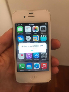 iPhone 4s 16 Gb Libre Libre Excelente Estado!! Soft 9.3.5