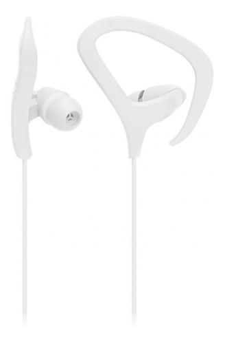Fone De Ouvido Intra Auricular Earhook Pro Branco Ph357