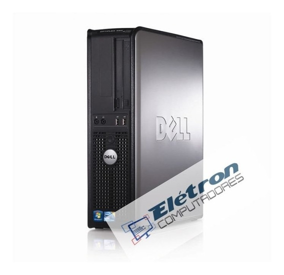 Lote 2 Micro Dell Optiplex Core 2 Quad Mem 4gb Ddr3 Hd250gb