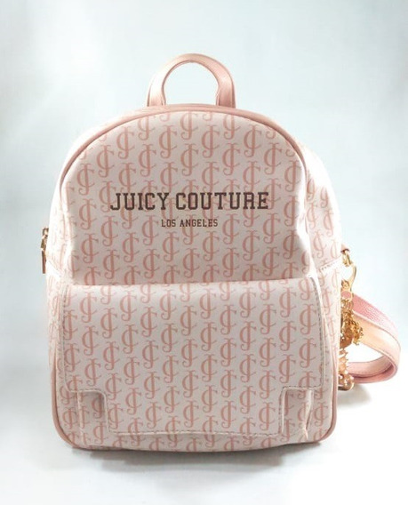 Bolsa Mochila Juicy Couture (usada) Rosa Leia O Anúncio!