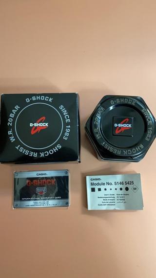 Relogio G-shock Modelo Ga-110gb-1acr- Black/gold- Novo Eua