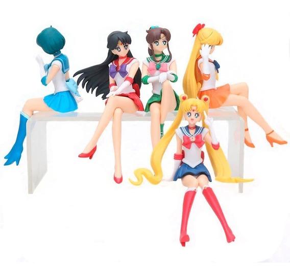 Figura Sailor Moon Y Compañia 12 Cms. Estatica. Envio Gratis