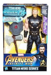 Thor Eletrônico Guerra Infinita Marvel - Hasbro Hasbro