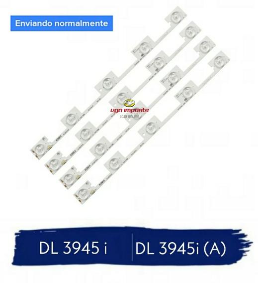 Kit Completo 4 Barras De Led Dl3945i (a) Tv Semp Toshiba