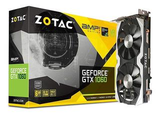 Zotac Geforce Gtx 1060 Amp Edition, Zt-p10600b-10m, 6gb...