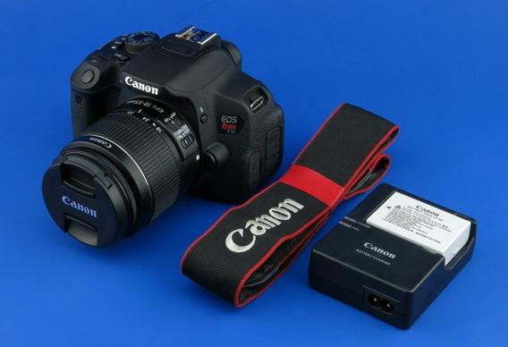 Canon T5i. Lente 18-55mm. Poco Tiempo De Uso.