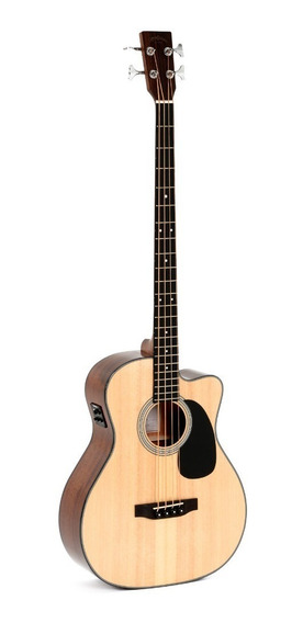 Bajo Electroacústico Sigma Guitars Bmc-1ste Fishman + Cuotas