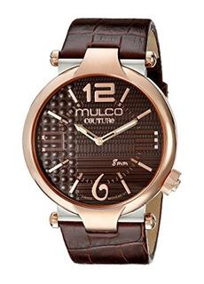 Reloj Mulco Hombres Mw53183033 Couture Slim Analog Display S