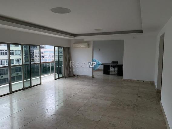 Duplex Com Vista Mar De 4 Suítes E 4 Vagas No Leblon. - 15662