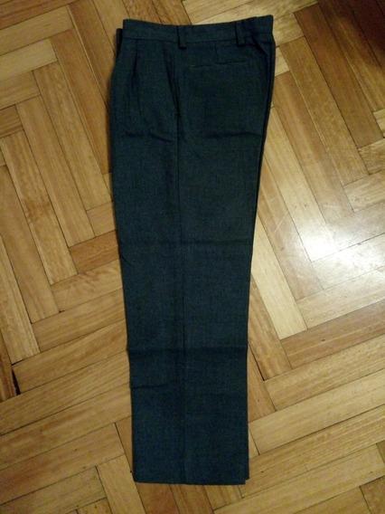 Pantalon Gris Escolar De Sarga Talle 16