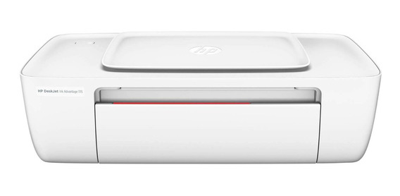 Impressora a cor HP DeskJet Ink Advantage 1115 110V/220V branca