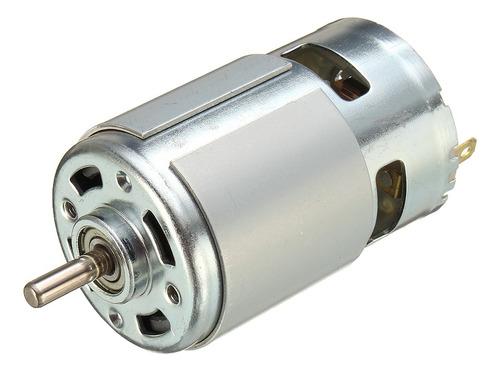 Imagen 1 de 10 de Dc 12v-36v 3500-9000rpm Motor Alta Potencia Bajo Ruido