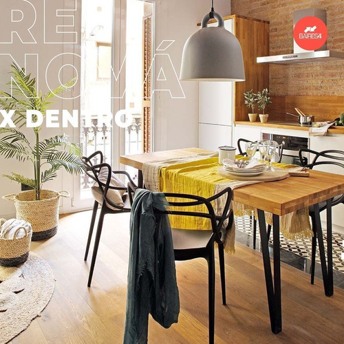 Pack X 4 Silla De Comedor Diseño Master
