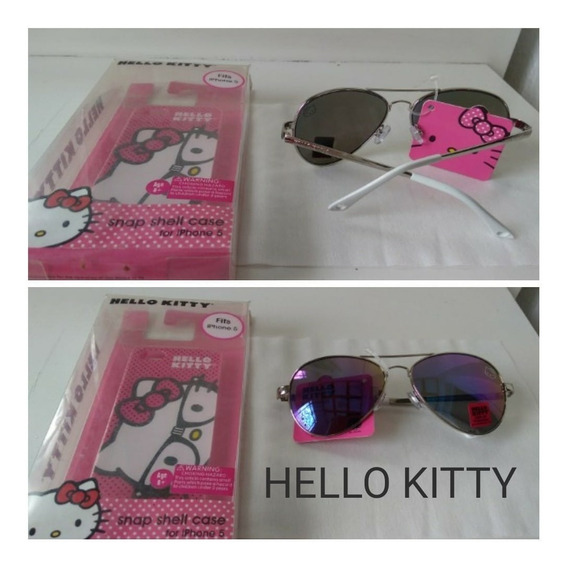 Lentes De Sol Hello Kitty Modelo Aviador
