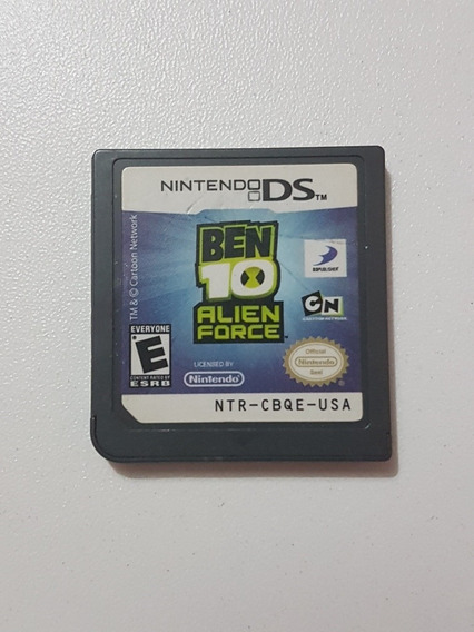 Ben 10 Alien Force Original Para Nintendo Ds