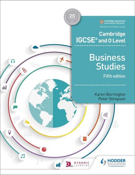 Cambridge Igcse And O Level Business Studies - 5th Edition