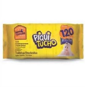 Feelclean Toalhinhas Umedecidas Piquitucho Premium 120 Toalh