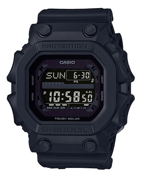 Relogio Casio G-shock Gx 56bb Tough Solar All Black C/ Nf-e