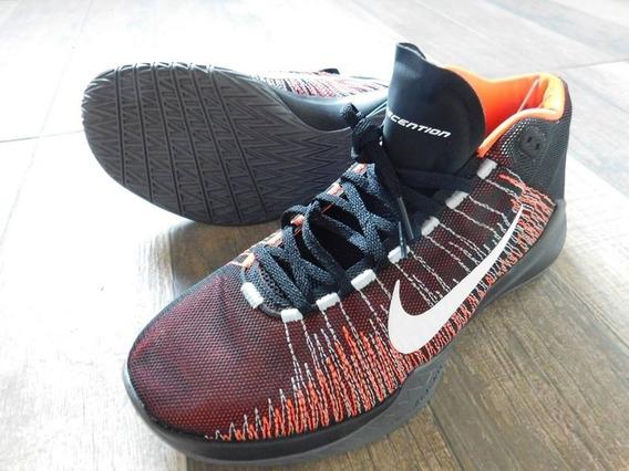 Zapatillas Basquet Nike Zoom Ascention Talle 42