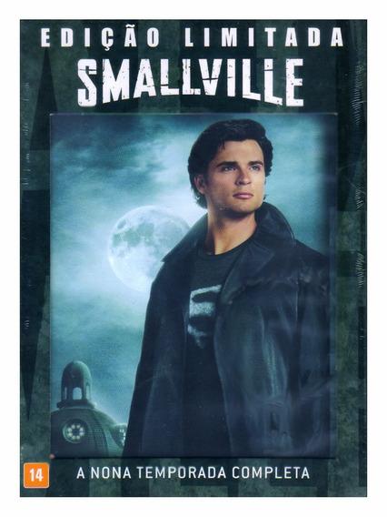 Smallville 9ª Temporada Completa 6 Dvd Novo Lacrado Dublado