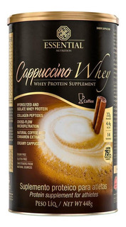 Cappuccino Whey (448g) - Essential Nutrition