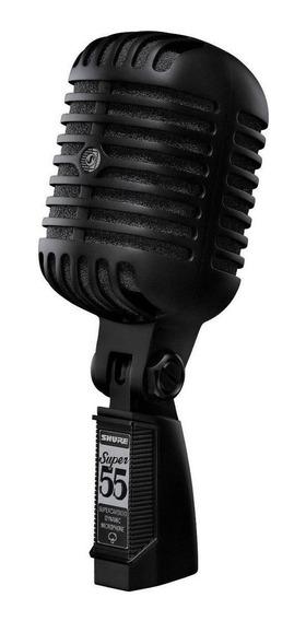 Microfone Shure Super 55 dinâmico preto