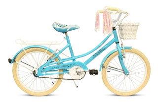 Bicicleta Musetta Rod.20 Vintage Nena C/canasto Env. Gratis