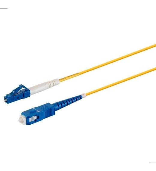 Patch Cord Fibra Optica Sc/upc A Lc/upc Monoprice Pvc 5 Mts