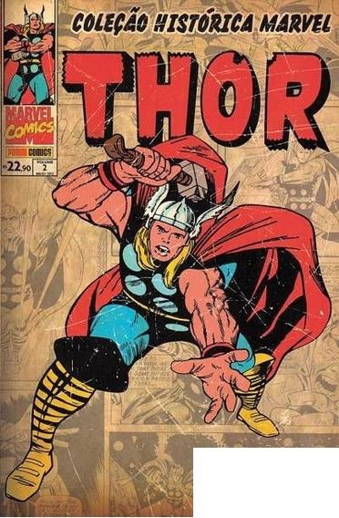 Hq - Coleção Histórica Marvel - Thor #02