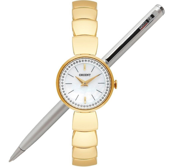 Relógio Orient Feminino Mini Fgss0088 B1kx - C/ Nota Fiscal
