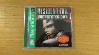 Resident Evil Directors Cut Ps1 Ps2 Ps3 Playstation 1